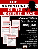 The Adventure of the Speckled Band: Sherlock Holmes Study Guide