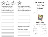 The Adventures of Ali Baba Bernstein Trifold - Treasures 4th Grade Unit 1 Week 2
