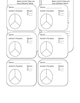 """""""The Adventures of Ali Baba Bernstein"""" foldables for lapbook"""