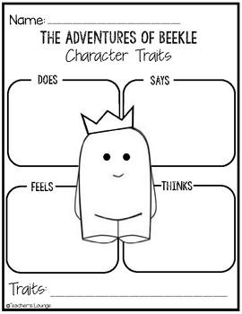 The Adventures of Beekle Reading Activities