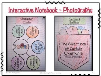The Adventures of Captain Underpants {Interactive Notebook & Novel Study}
