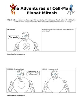 The Adventures of Cellman: Planet Mitosis