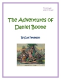 The Adventures of Daniel Boone: Third Grade - Level N Reader
