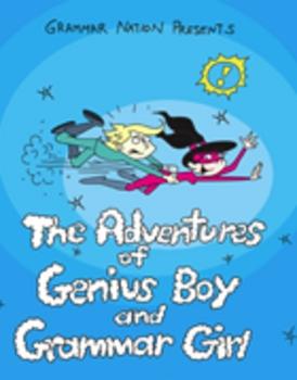 The Adventures of Genius Boy and Grammar Girl