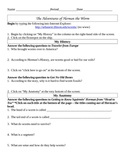 The Adventures of Herman the Worm - Student Edition WebQuest