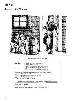 The Adventures of Huckleberry Finn 10 Chapters, Student Activities, Answer Keys
