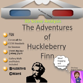 The Adventures of Huckleberry Finn: 3D Scene Analysis Project Diorama