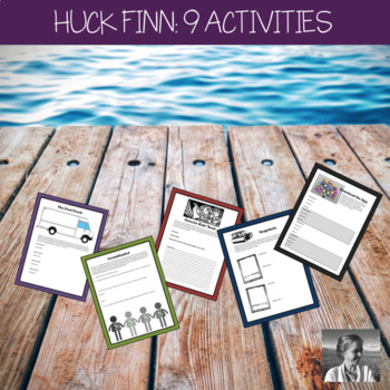 The Adventures of Huckleberry Finn: 9 Anytime Activities
