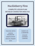 The Adventures of Huckleberry Finn- Developing Detailed Ch