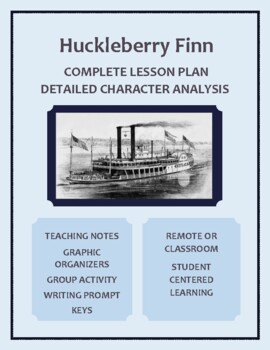 The Adventures of Huckleberry Finn-A Worksheet for Group C