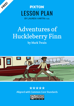 The Adventures of Huckleberry Finn Activities: Character Map, Conflict and Plot