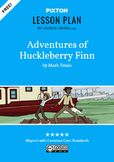 The Adventures of Huckleberry Finn Activities: Character M