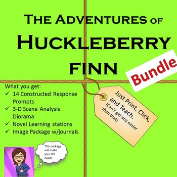 The Adventures of Huckleberry Finn Bundle Unit
