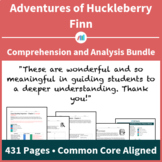 The Adventures of Huckleberry Finn – Comprehension and Analysis Bundle