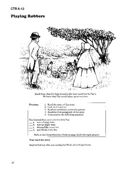 The Adventures of Huckleberry Finn Read-along with Activities and Narration