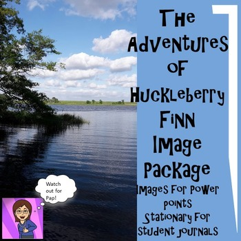 The Adventures of Huckleberry Finn Image Package :Stationery, PPT