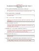 The Adventures of Huckleberry Finn (Mark Twain): Chapter 7 - Reading Quiz