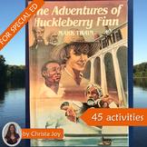 The Adventures of Huckleberry Finn Novel Study for Special