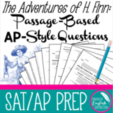The Adventures of Huckleberry Finn Passage-based AP Style