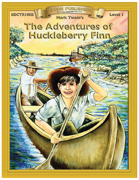 The Adventures of Huckleberry Finn RL 1-2 Adapted and Abri
