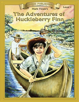 The Adventures of Huckleberry Finn RL 1-2 ePub with Audio Narration