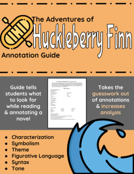 The Adventures of Huckleberry Finn Annotation Guide