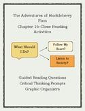 The Adventures of Huckleberry Finn-Tracking Huck's Conscie