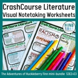 The Adventures of Huckleberry Finn bundle: Crash Course Li