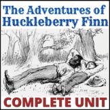 The Adventures of Huckleberry Finn Unit and Teacher Guide