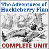 The Adventures of Huckleberry Finn unit and teacher guide