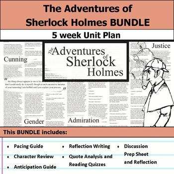 The Adventures of Sherlock Holmes Unit Bundle