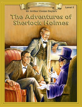 The Adventures of Sherlock Holmes RL5-6 ePub with Audio Narration