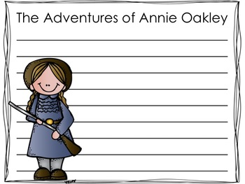 The Adventures of... Tall Tales Mini Book {Student Research and Writing Journal}