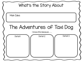 The Adventures of Taxi Dog ~ 52 pgs Common Core Activities