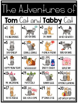 The Adventures of Tom Cat and Tabby Cat
