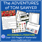 The Adventures of Tom Sawyer- An Adapted Novel for SpEd and Autism Units