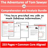 The Adventures of Tom Sawyer – Comprehension and Analysis Bundle