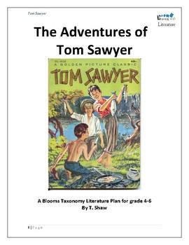 The Adventures of Tom Sawyer Literature unit