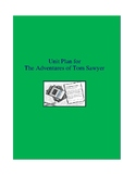 The Adventures of Tom Sawyer Complete Literature and Grammar Unit