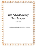 The Adventures of Tom Sawyer Novel Unit Plus Grammar