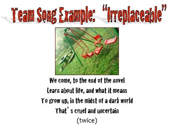 The Adventures of Tom Sawyer: Team Song Activity, Cave Scene, & Characterization