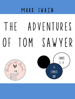 The Adventures of Tom Sawyer by Mark Twain Vocabulary Resources
