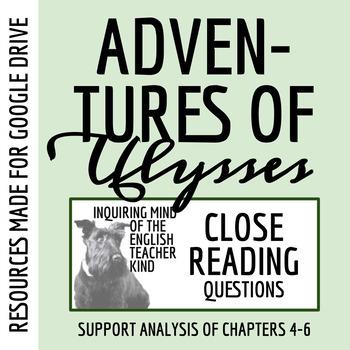 adventures of ulysses teaching resources teachers pay teachers rh teacherspayteachers com The Adventures of Ulysses Chapters Adventures of Ulysses Lesson Plans
