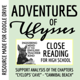"""The Adventures of Ulysses: Close Read (""""Cyclops' Cave"""" through """"Cannibal Beach"""")"""