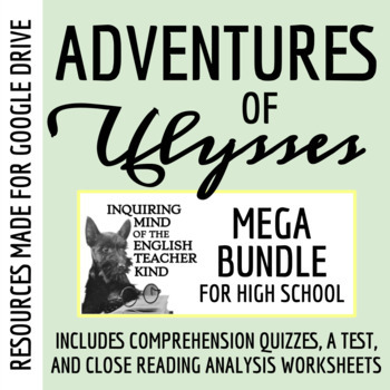 4c0b220531a9 The Adventures of Ulysses Mega Bundle - Quizzes