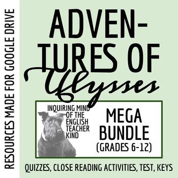 The Adventures of Ulysses Mega Bundle - Quizzes, Close Reads, Test, Review Game