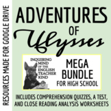 The Adventures of Ulysses Mega Bundle - Quizzes, Close Reads, Test, Review Game