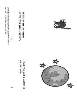 The Adventures of the Little Jack-O-Lantern- mini book