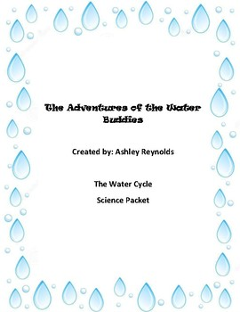 The Adventures of the Water Buddies - Water Cycle Packet