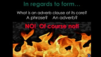 CCSS.ELA-L.9-10.1.b Dependent Clauses - The Adverb Clause - A Complete PP Lesson